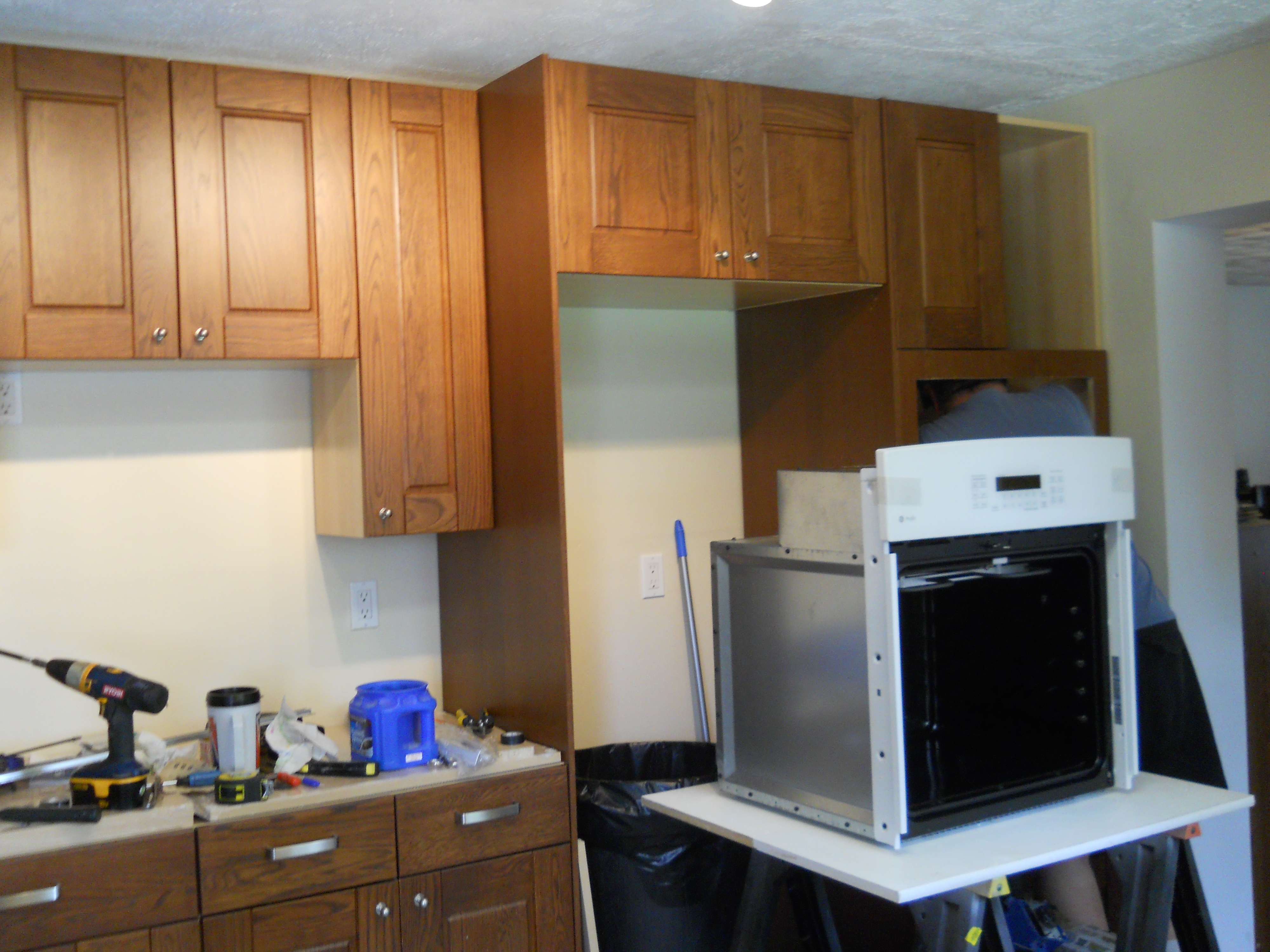 The Kitchen Take 2 Remodel In Eaton House Wiring To A Wall Oven Jim Is